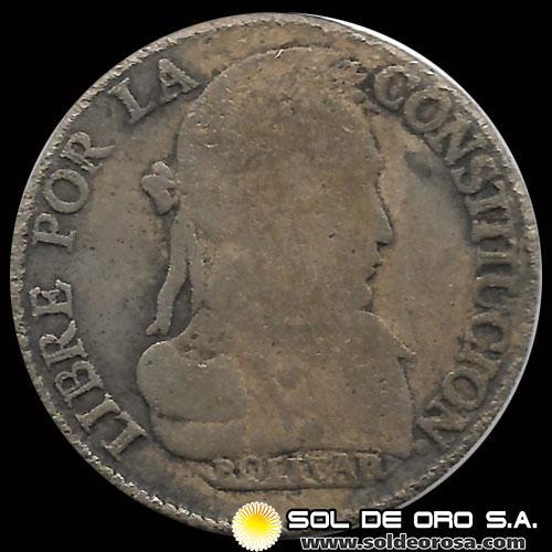8cd7c990dc0e ... ORO · REPÚBLICA BOLIVIANA - 4 SOLES - AŃO 1830 - MONEDA DE PLATA ...