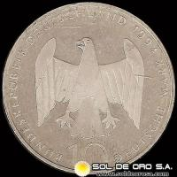 ALEMANIA - GERMANY - FEDERAL REPUBLIC - 10 MARK / 10 MARCOS, 1994 - MONEDA DE PLATA