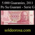 Billetes 2011 2- 5.000 Guaraníes