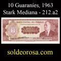 Billetes 1963 -03- Stark - 10 Guaraníes