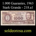 Billetes 1963 -07- Stark - 1.000 Guaraníes