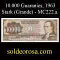Billetes 1963 -09- Stark - 10.000 Guaraníes