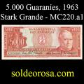 Billetes 1963 -08- Stark - 5.000 Guaraníes