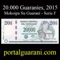 Billetes 2015 2- 20.000 Guaraníes
